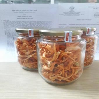 Đông trùng hạ thảo sợi sinh khối gạo lứt khô 100 gram