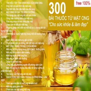 Tác dụng của mật ong đối với sức khỏe và làm đẹp