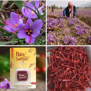 Cách sử dụng nhụy hoa nghệ tây Kashmir - Baby Saffron Ấn Độ